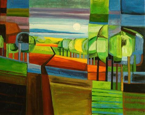 cuadros de paisajes abstractos cuadros abstractos cuadros modernos con paisajes
