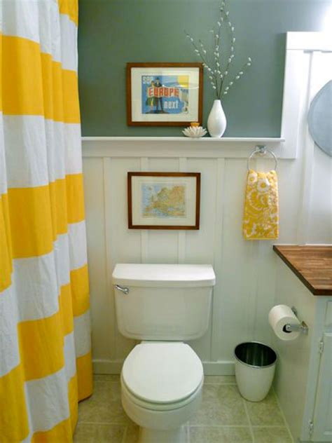 decorate small bathroom cheap budget bathroom makeovers hgtv