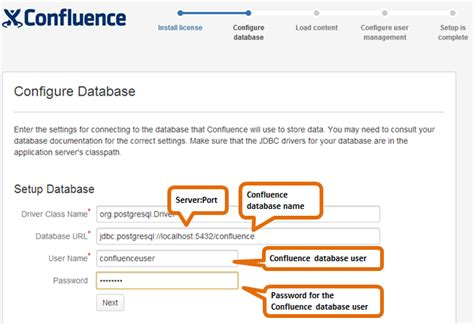 postgresql create database template database setup for postgresql atlassian documentation