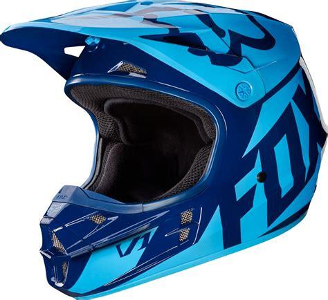 mens motocross fox racing mens v1 race dot approved motocross mx helmet