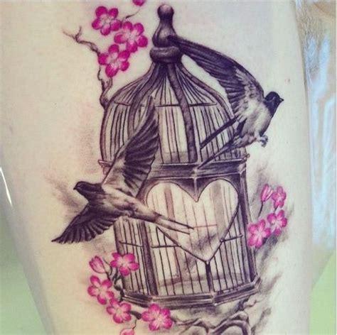 vintage bird tattoo designs antique bird cage search bird cage