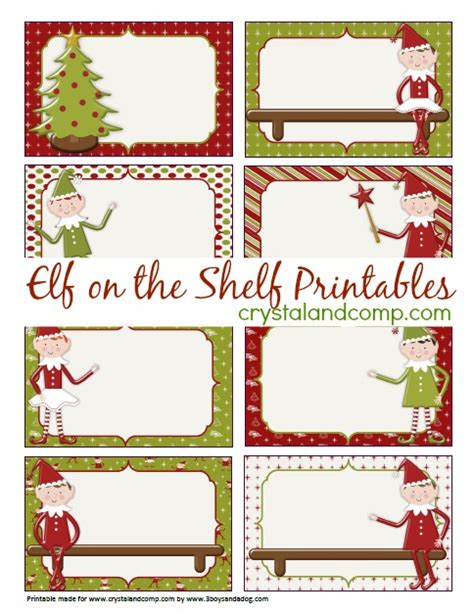 free printable elf on the shelf book elf on the shelf printables