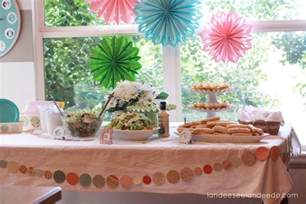 Bridal Shower Decorations by Wedding Shower Decorations Landeelu Com