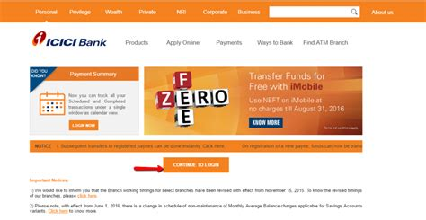 icici bank login icici bank banking login login bank