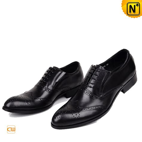 italian leather shoes black italian leather brogue shoes for cw764075