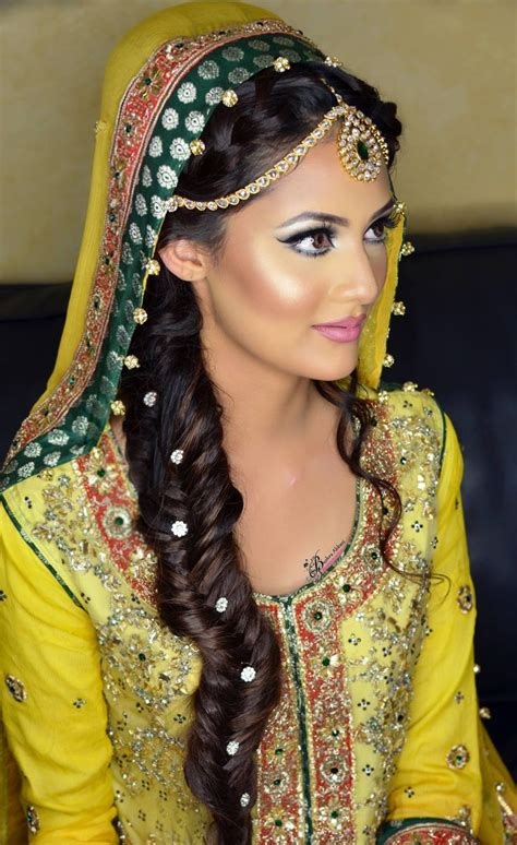 latest pakistani and indian eid hairstyle hair accessories 2014 latest pakistani bridal hairstyles 2017 for girls 6