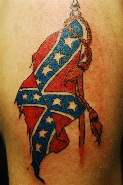 rebel flag tattoos for girls 30 cool rebel flag tattoos slodive