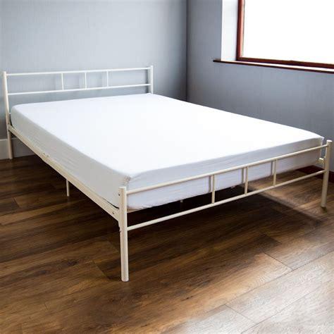 silver metal bedroom furniture dorset king size bed metal steel frame 5ft bedroom