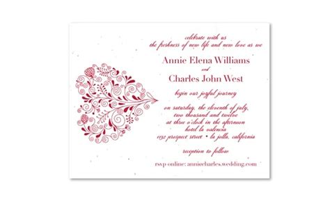 Printed Wedding Invitations Velum by 17 Best Images About Eco Friendly Wedding Invitations On
