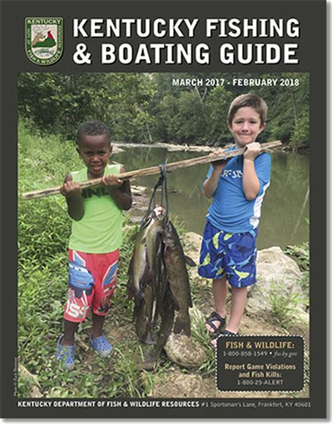 kentucky boating license kentucky department of fish wildlife fishing and boating