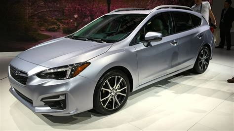 2017 subaru impreza sedan black 2017 subaru impreza sedan and hatch debut at new york auto
