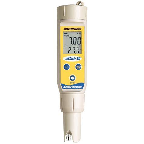 Ph Meter Oakton Oakton Waterproof Ph Testr 30 Pocket Tester From Cole Parmer