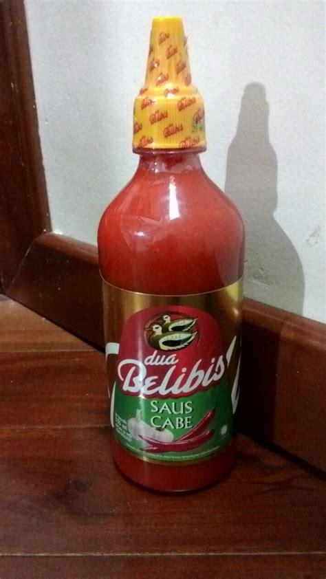 Dua Belibis Saus Cabe Botol 340ml jual dua belibis saus cabe 535 ml kemasan botol plastik