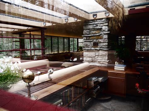 Andrew Frank Interior Design by Fallingwater Interior Frank Lloyd Wright Frank Lloyd Wright Lloyd Wright And