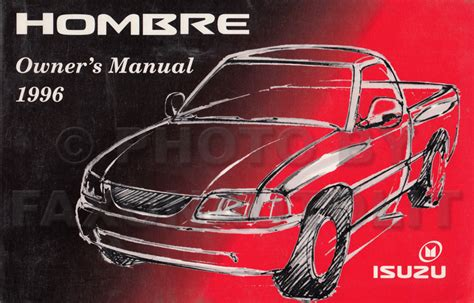 free car manuals to download 1996 isuzu hombre regenerative braking service manual 1996 isuzu hombre repair manual free service manual 1996 isuzu hombre sunroof