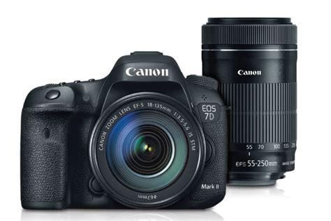 Canon Eos 7d Lensa Kit Ef S 18 135mm 1 3 5 5 6 Is 7d ii ef s 18 135mm is stm with ef s 55 250mm is stm lens kit refurbished canon store
