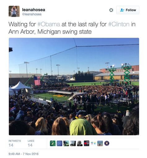 ann arbor news sports section crowd of over 4 000 await obama in ann arbor the