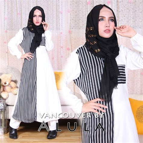 Baju Muslim Wanita Simple style baju muslim wanita simple trendy masa kini 2016