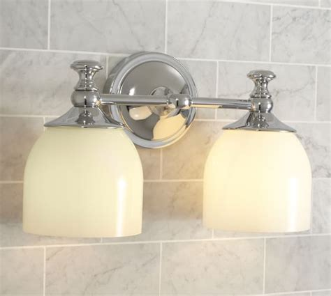 pottery barn bathroom fixtures mercer double sconce pottery barn
