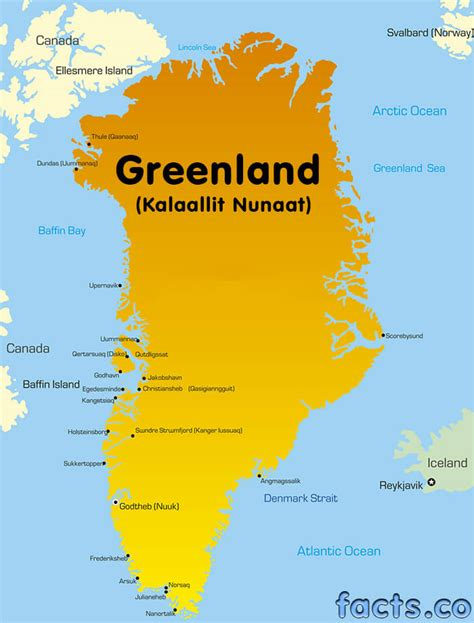 greenland map with cities greenland map blank political greenland map with cities