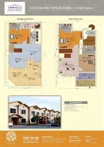 2 Bedroom Park Model Homes floor plans of 125 and 200 sq yards bahria homes karachi