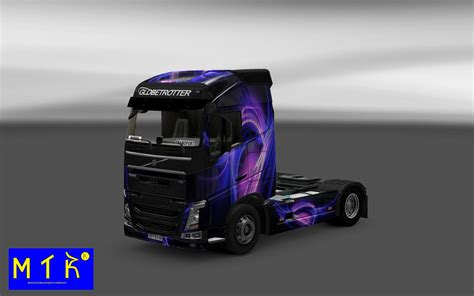 Fh Purple skin volvo fh2012 black purple modhub us
