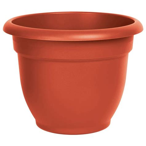 pennington 22 in terra cotta heavy rimmed clay pot
