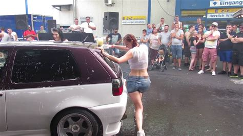 Auto Tuning Wiesbaden by Auto Tuning Event Wiesbaden 2016 Nr 11 Carwash Girls Vw