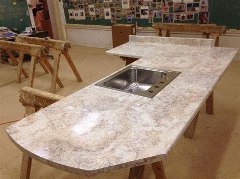 crema mascarello waterfall profile kitchen countertop