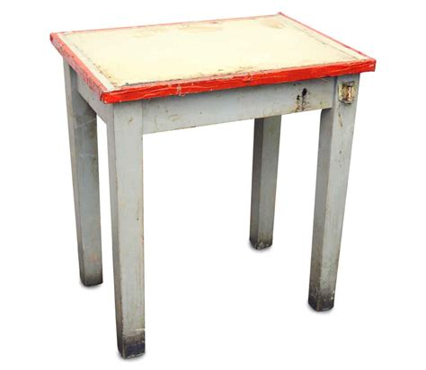 Kitchen Side Table Americana Side Table With Vintage Paint Olde Things