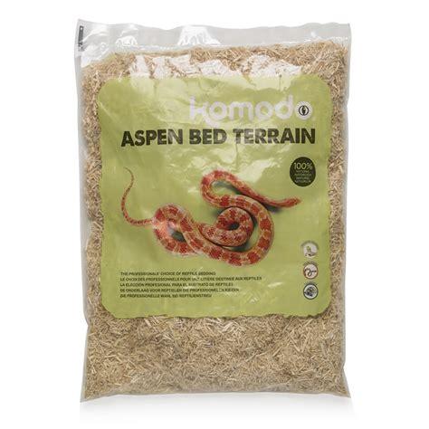 aspen snake bedding komodo aspen bed terrain snake substrate 6l at wilko com