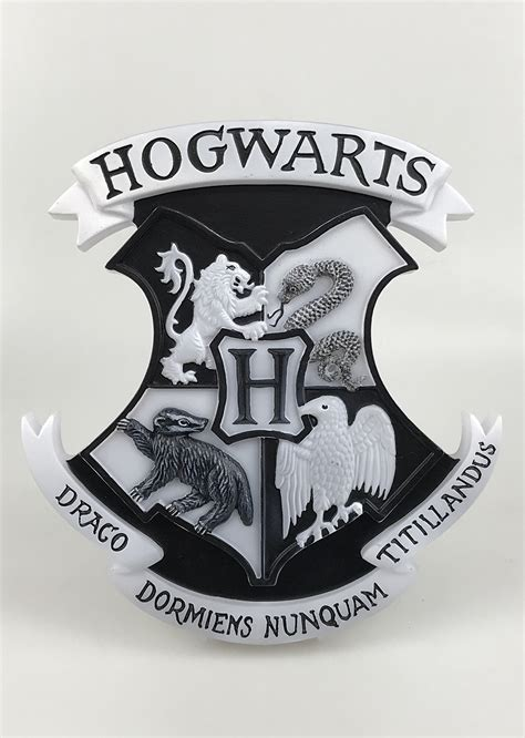 Hogwarts Logo On Wood hogwarts logo www topsimages