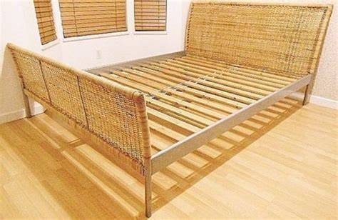 Ikea Wicker Bed Frame Queen Size Furniture In Seattle Wicker Bed Frames