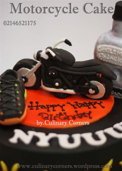 Supplier Baju Tea And Cake Dress Mc harley davidson motorcycle cake untuk nyuuunn culinary corners