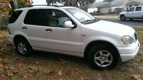 buy used 2000 mercedes benz ml320 suv 92k miles priced to sell take a look in