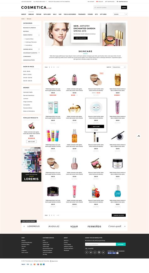 big commerce template cosmetica premium responsive bigcommerce template