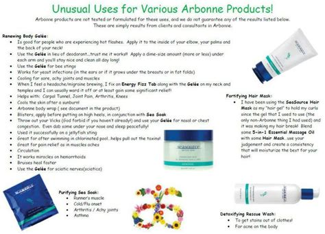 Can I Use Arbonne Detox Gel After Radiation Treatment 20 best images about seasource detox spa on