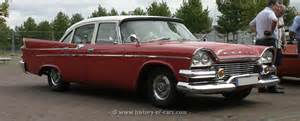 dodge 1958 coronet 4door sedan the history of cars