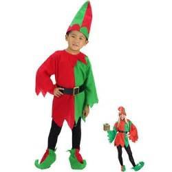 2015 new funny christmas buddy elf costumes christmas boys costumes