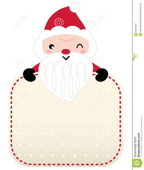 free santa card templates retro santa greeting stock vector image of clip