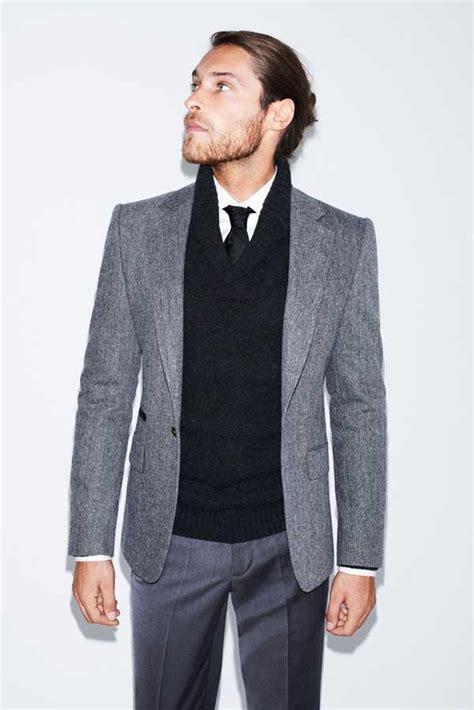 Grey Premium Blazer Jacket Jas Cardigan Keren gray suit ideas for s fashion s fashion wear and s suits