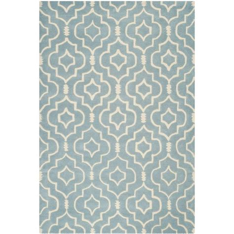 chatham rugs safavieh chatham grey ivory 6 ft x 9 ft area rug cht733e 6 the home depot