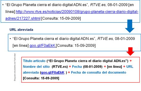 referenciar imagenes html blog para estudiantes de publicidad bibliograf 237 a