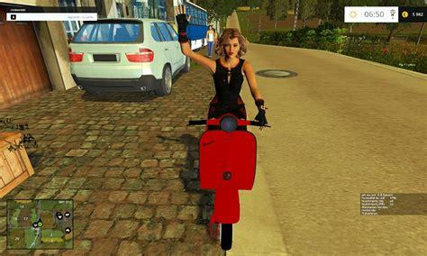 vespa woman  fs  farming simulator   mod