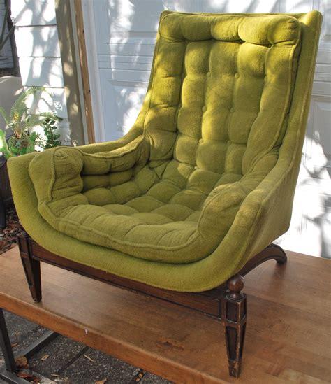 junkfunk vintage olive green chair