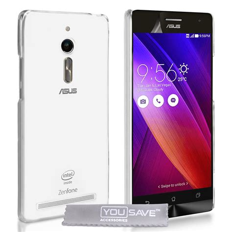 Silicon Casing Softcase Mac Glossy Asus Zenfone 2 Laser 5 Inc yousave accessories asus zenfone 2 ultra thin silicone gel cover clear