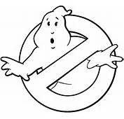 Ghostbusters Logo Black And White  Just Patterns Pinterest