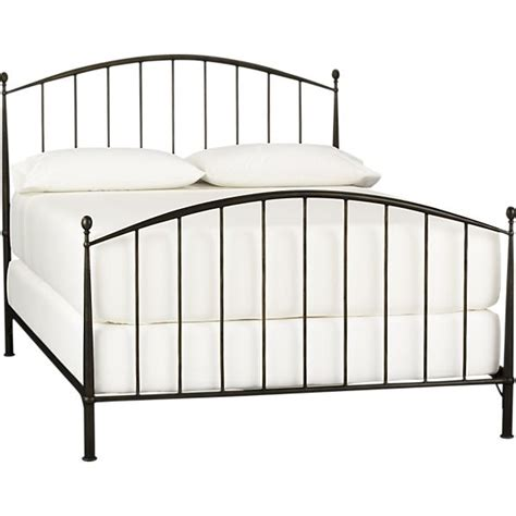 crate and barrel bed frame crate and barrel porto bed frame home pinterest
