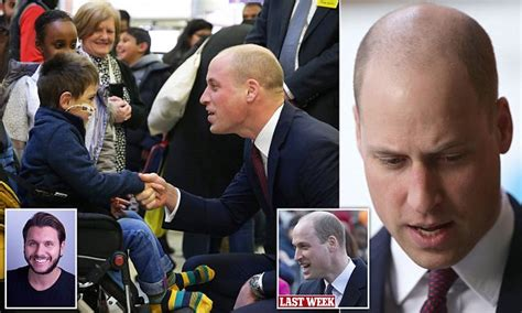 prince william doodle daily mail prince william sports shaven as he backs nhs scheme