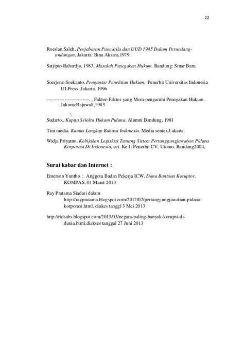 Pengantar Penelitian Hukum Oleh Soerjono Soekanto 1 skripsi penegakan hukum tp korupsi bansos